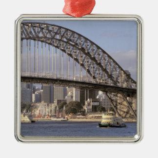 Australia, Nuevo Gales del Sur, Sydney, Sydney Adorno Navideño Cuadrado De Metal