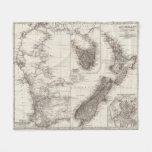 Australia occidental Tasmania y Nueva Zelanda Manta De Forro Polar