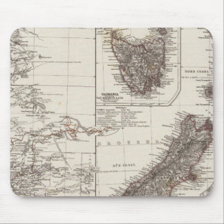 Australia occidental Tasmania y Nueva Zelanda Tapete De Raton