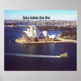 Australia Opera House Poster