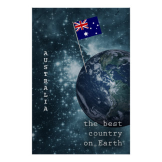 Australia Out Of This World Poster