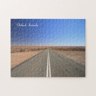 Australia Outback Road - Puzzle
