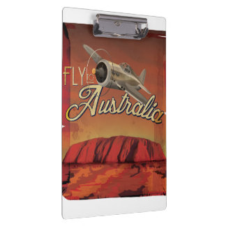 Australia Outback Vintage Poster. Clipboards