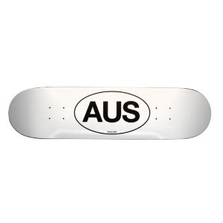 Australia Oval Skateboard