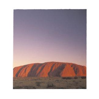 Australia, parque nacional de Uluru KATA Tjuta, Ul Libreta Para Notas