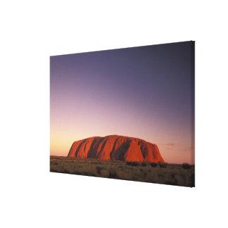 Australia, parque nacional de Uluru KATA Tjuta, Ul Impresiones En Lona Estiradas
