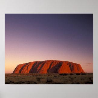 Australia, parque nacional de Uluru KATA Tjuta, Ul Póster