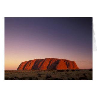 Australia, parque nacional de Uluru KATA Tjuta, Ul Tarjetón