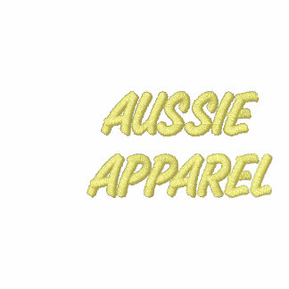 AUSTRALIA Patriotic Embroidered Aussie Apparel Polo Shirt