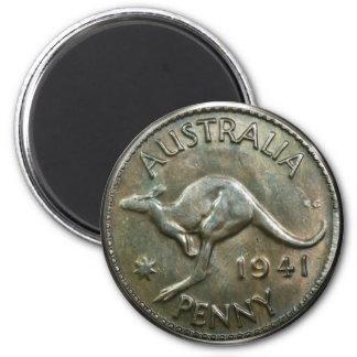 Australia Penny 1941 Magnet