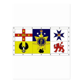 Australia Personal Flag of HM The Queen Postcard
