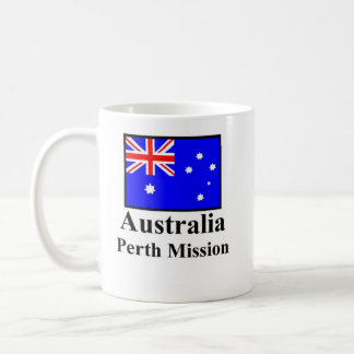 Australia Perth Mission Drinkware Classic White Coffee Mug