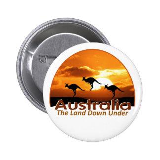 AUSTRALIA PIN REDONDO 5 CM