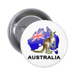 Australia Pinback Button