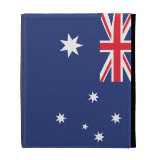 Australia Plain Flag iPad Case