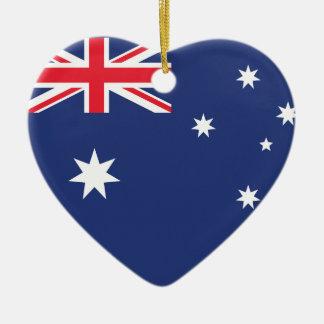 Australia Plain Flag Ornament