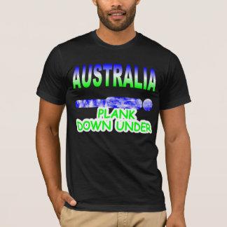 AUSTRALIA PLANK DOWN UNDER T-Shirt