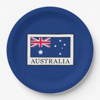 Australia Platos De Papel