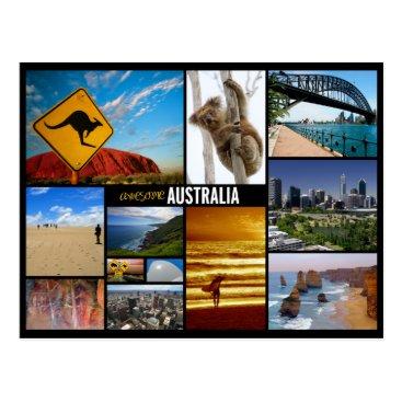 sumners australia postcard