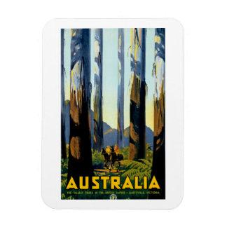 Australia Rectangle Magnets
