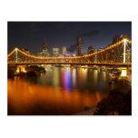Australia, Queensland, Brisbane, puente de la Tarjetas Postales