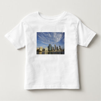 Australia, Queensland, Brisbane, Skyscrapers and Toddler T-shirt