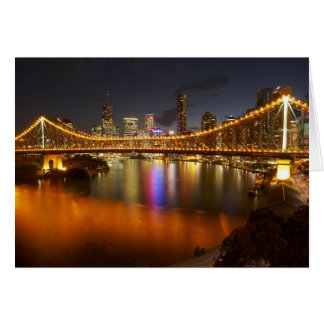 Australia, Queensland, Brisbane, Story Bridge, 2 Card