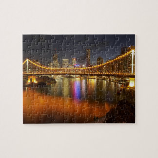 Australia, Queensland, Brisbane, Story Bridge, 2 Jigsaw Puzzle