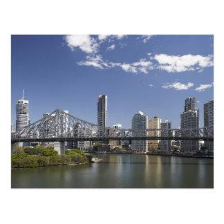 Australia, Queensland, Brisbane, Story Bridge, Postcard