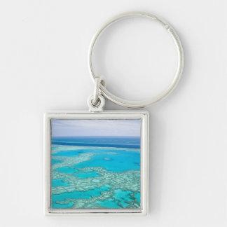 Australia, Queensland, costa de Whitsunday, grande Llavero Cuadrado Plateado