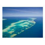Australia, Queensland, costa del norte, mojones 2 Postal