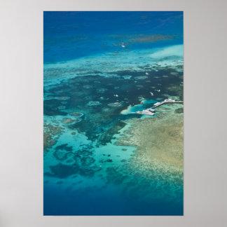 Australia, Queensland, costa del norte, mojones Poster
