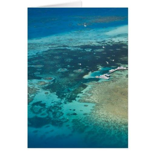 Australia, Queensland, costa del norte, mojones Tarjeton
