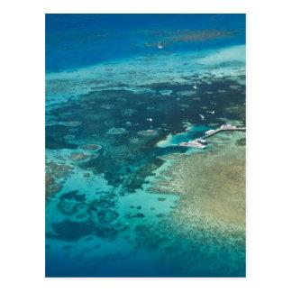Australia, Queensland, costa del norte, mojones Tarjeta Postal