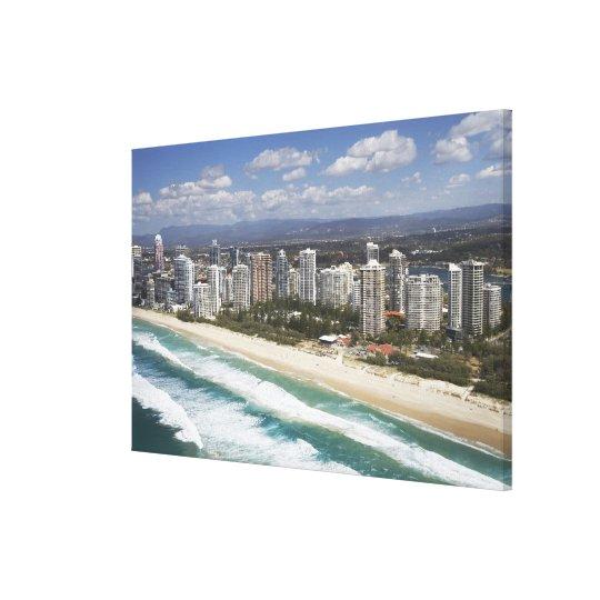 Australia, Queensland, Gold Coast, Main Beach - Canvas Print