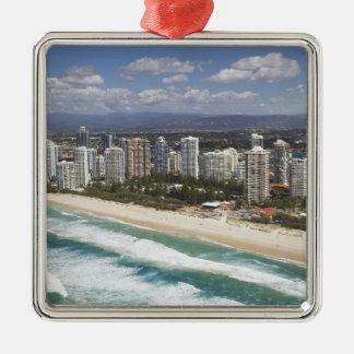 Australia, Queensland, Gold Coast, Main Beach - Metal Ornament