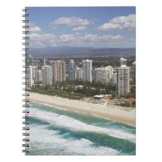 Australia, Queensland, Gold Coast, Main Beach - Spiral Notebook