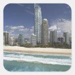 Australia, Queensland, Gold Coast, personas que Pegatinas Cuadradases