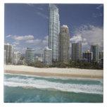 Australia, Queensland, Gold Coast, personas que pr Azulejo Ceramica