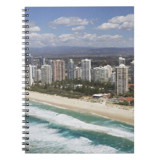 Australia, Queensland, Gold Coast, playa principal Libreta