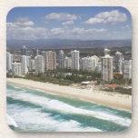 Australia, Queensland, Gold Coast, playa principal Posavasos
