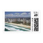 Australia, Queensland, Gold Coast, playa principal Timbres Postales