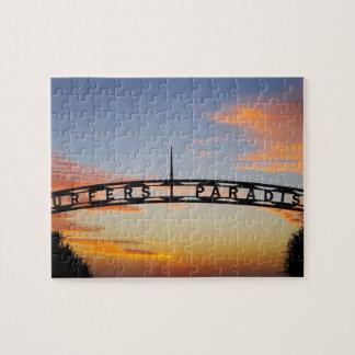 Australia, Queensland, Gold Coast, Sunrise, Jigsaw Puzzle