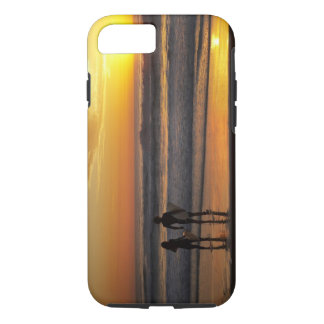 Australia, Queensland, Gold Coast, Surfers at iPhone 7 Case