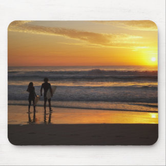 Australia, Queensland, Gold Coast, Surfers at Mouse Pad
