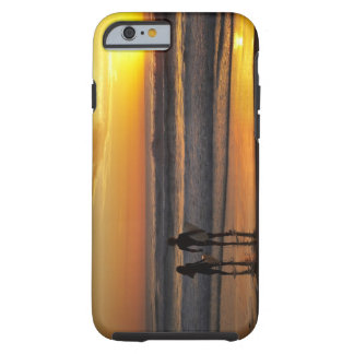 Australia, Queensland, Gold Coast, Surfers at Tough iPhone 6 Case