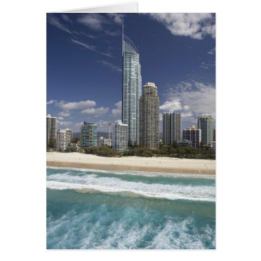 Australia, Queensland, Gold Coast, Surfers Card