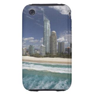 Australia, Queensland, Gold Coast, Surfers iPhone 3 Tough Covers