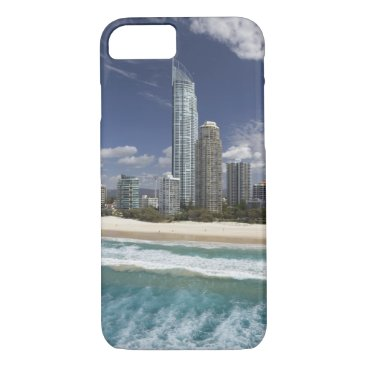 Beach Themed Australia, Queensland, Gold Coast, Surfers iPhone 7 Case
