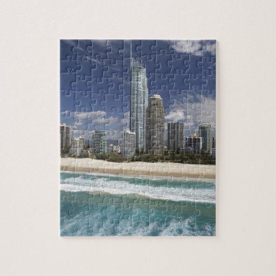 Australia, Queensland, Gold Coast, Surfers Jigsaw Puzzle